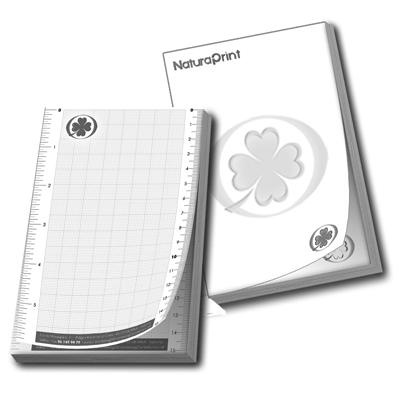 Blocs de notas A4 escala de grises