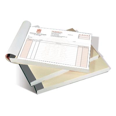 Talonarios A4 100 hojas 2 tintas