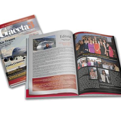 Revistas y catálogos A4